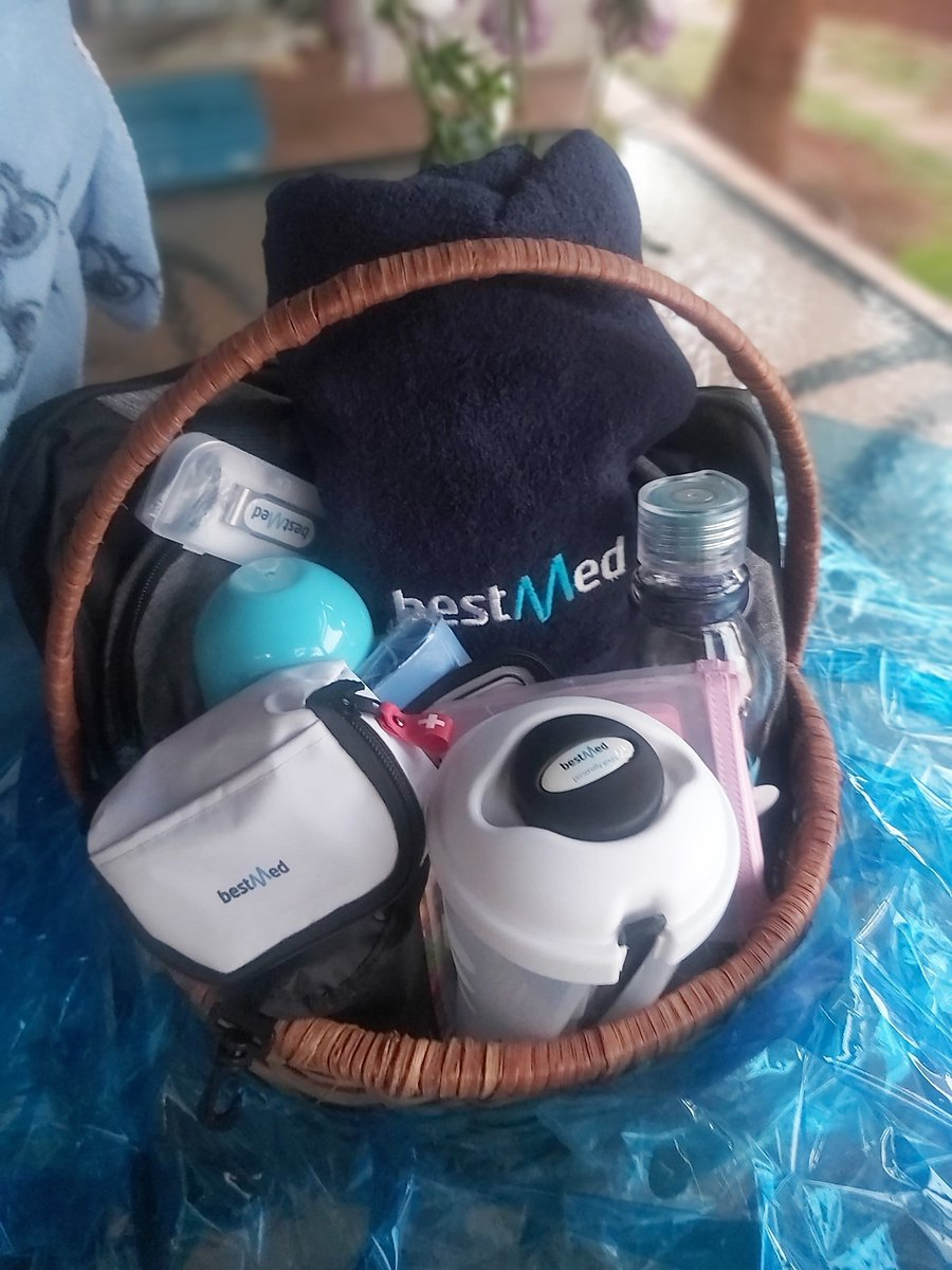 @BestmedScheme Thank you so so much. I love my gift🥳. Exactly what I needed. #BestMed  #MyBestLife #HealthyLiving https://t.co/JPiaz4laAP