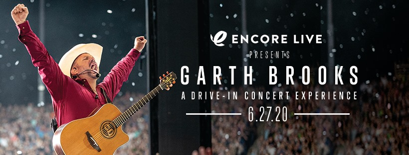 Singer-songwriter Garth Brooks performs on the big screen at @Beckysdi here in #LehighValleyPa for one night only on June 27. Tickets on sale on 6/19 at 11 a.m. Get tickets here: bit.ly/2YMcmA7.