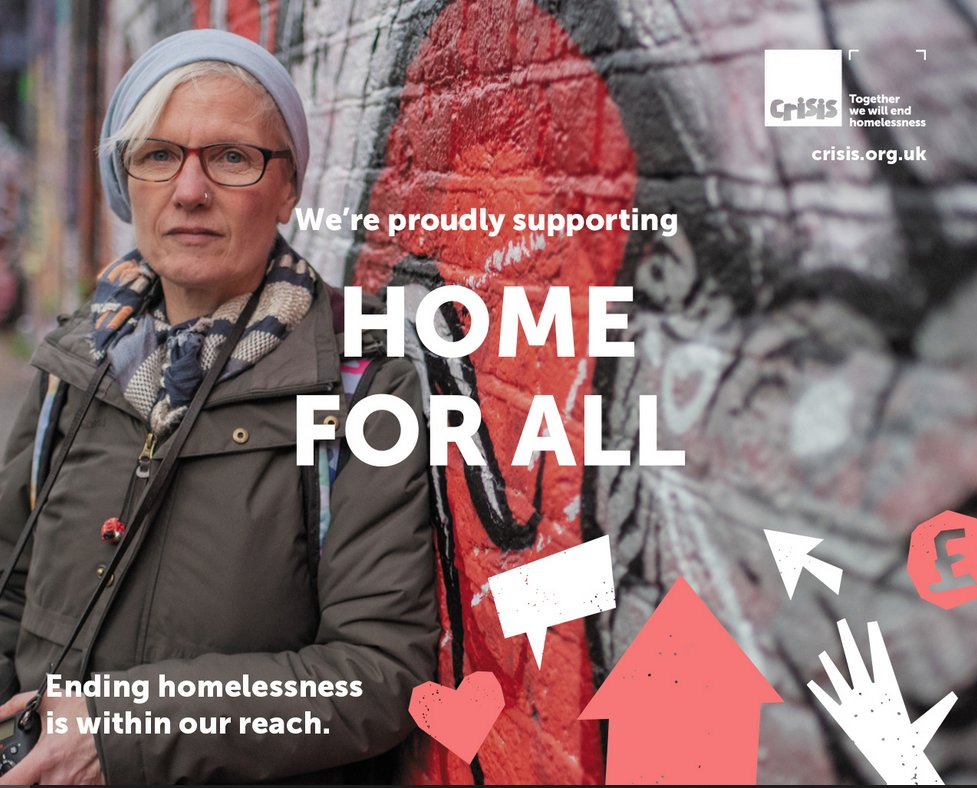 We've proven we can come together to help end #homelessness – not just in the future, but right now. Join The Passage in supporting @crisis_uks #HomeForAll campaign to make now the beginning of the end of homelessness: crisis.org.uk/get-involved/h… #toendinghomelessness