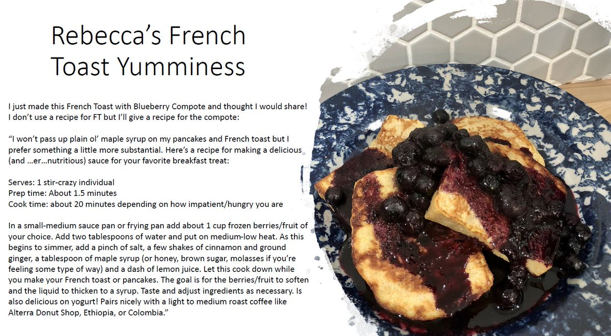 Rebecca is not only the Senior Coffee Development Technologist at Lavazza Professional, she is also a culinary force to be reckoned with! Check out her phenomenal blueberry compote #recipe to make your Saturday morning breakfast extra special! https://t.co/dob3gL1zSz
