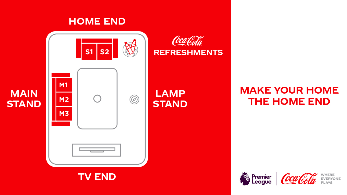 The @PremierLeague is back! Time to take your seat. Is your Home End ready? #WhereEveryonePlays https://t.co/iJVX6Vs544