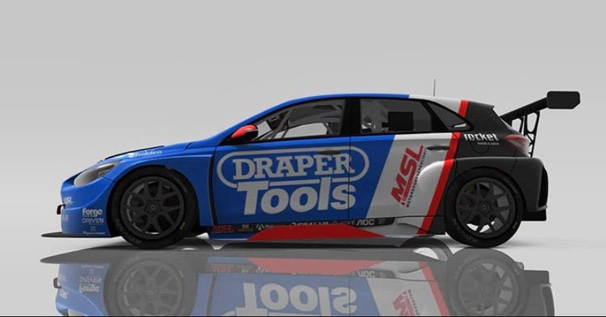 💥E Series NEWS💥 Proud to announce I will be participating in the VRRC E series along side my real life team mate @chrissmiley22  I will be behind the wheel of the @mslmotorsport @draper tools car  Can't wait to get going🔥 https://t.co/7EPPdtO6oP