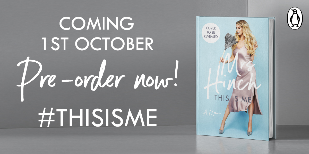 This autumn, we're thrilled to be publishing cleaning sensation @mrshinchhome's memoir, This Is Me. An honest, uplifting read, we can't wait to share it with you all.  Pre-order your copy here: http://hyperurl.co/ThisIsMepic.twitter.com/tzdRmCwuE0