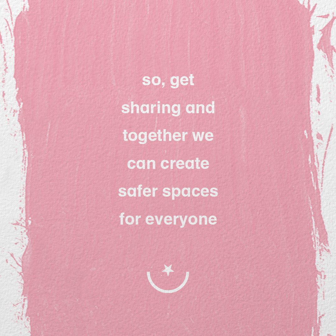 6/ so, get sharing + together we can create safer spaces for everyone https://t.co/jXf0YiH47l