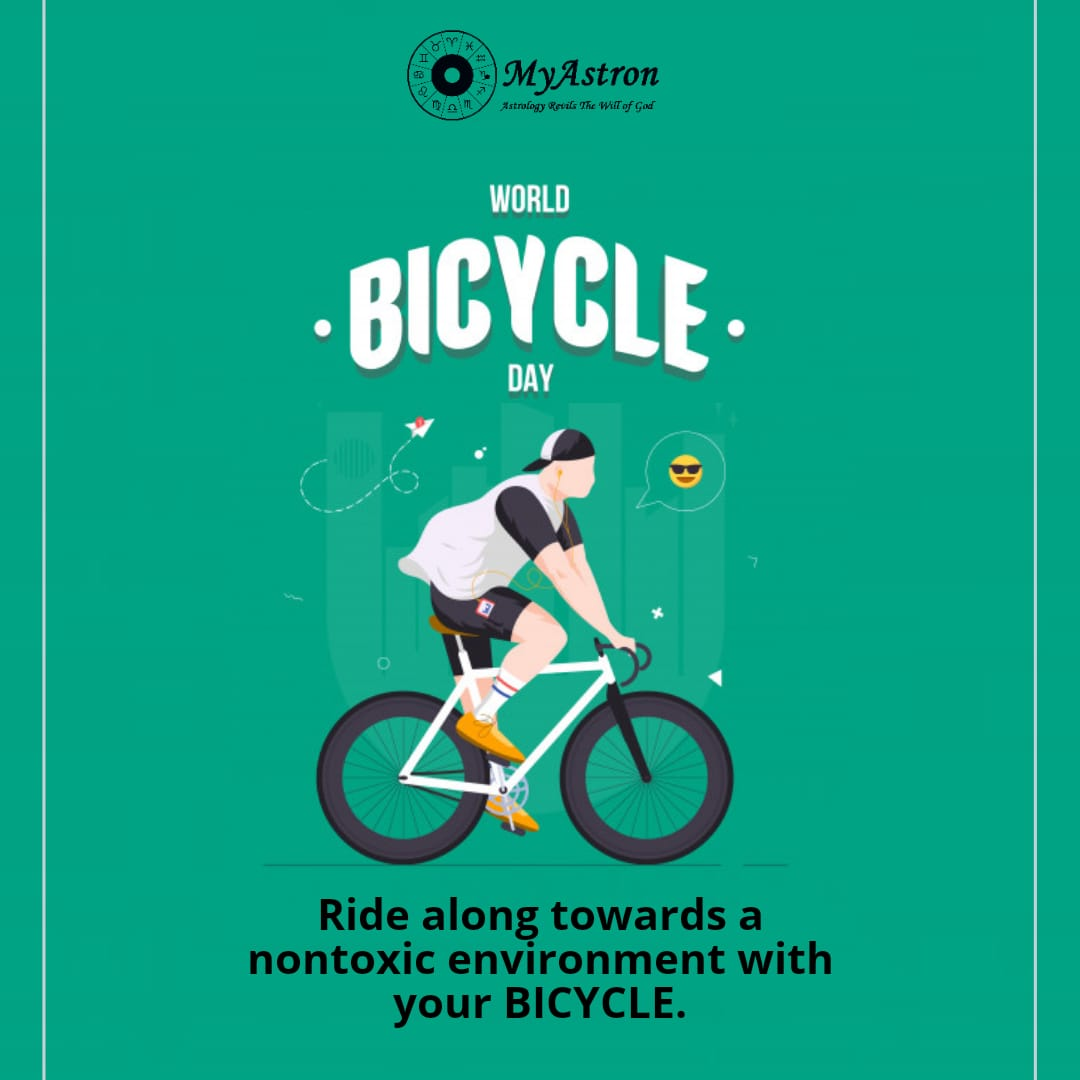 Life is like riding a bicycle to keep your balance you must keep moving. Call us: +91 9739501234 Visit: https://t.co/vUYjs5gUH8 #myastron #astrology #bicycleday #lifestyle #Balance #worldbicycleday2020 #UPDATE #vedicastrology #horoscope #environment #india #delhi #odisha #cuttack https://t.co/cYNwZ7UK46