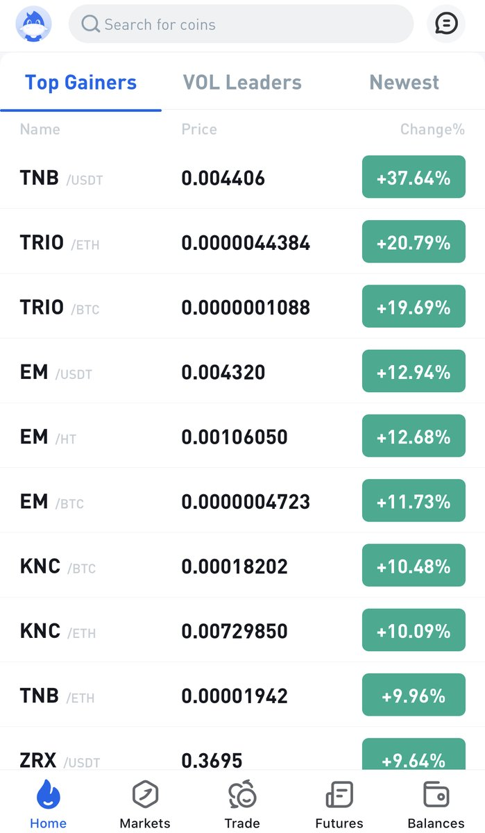#TNB/#USDT now is available in #Huobi Exchange. Plz click pin tweet to win 10,000 TNB. GOGOGOGO....