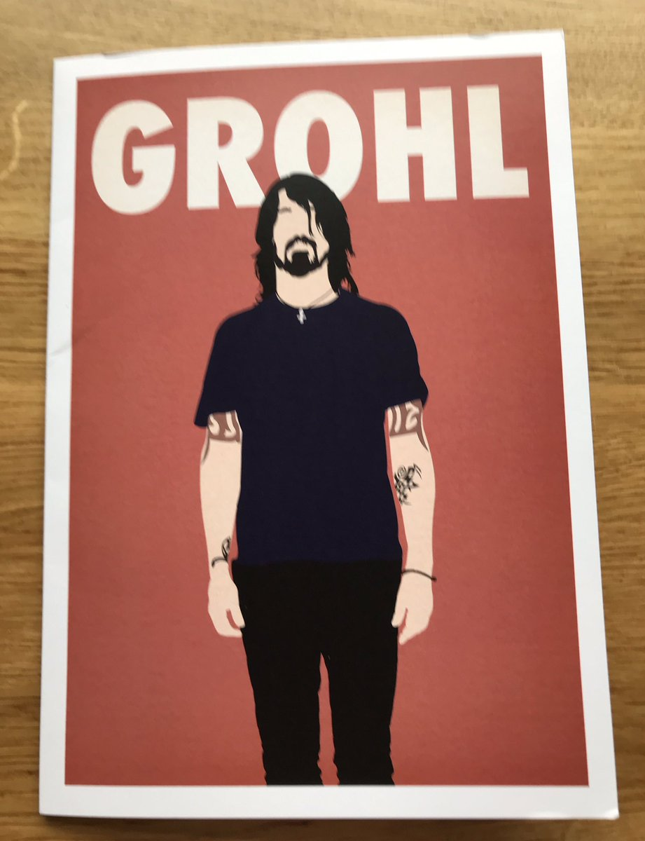 Best birthday card ever 😍 @foofighters #foofighters #davegrohl https://t.co/ahrhmLOLPO