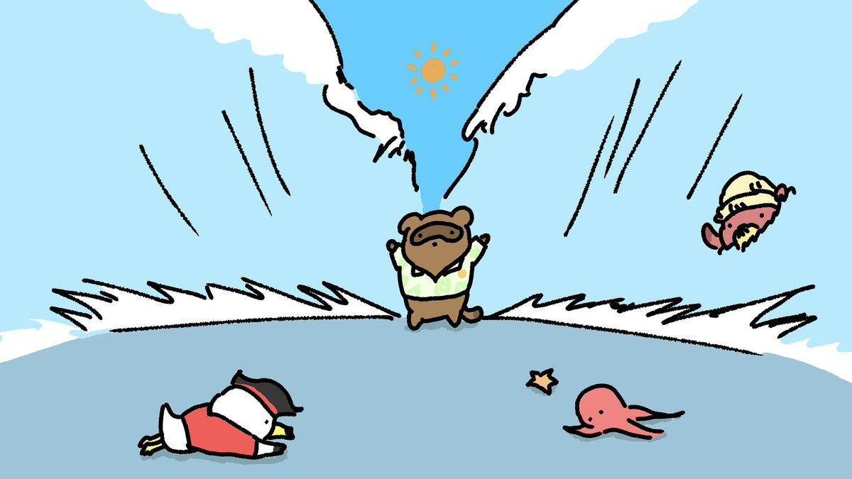 海開き#マリンスーツ #ラコスケ#森アプデ #あつ森 #ACNH