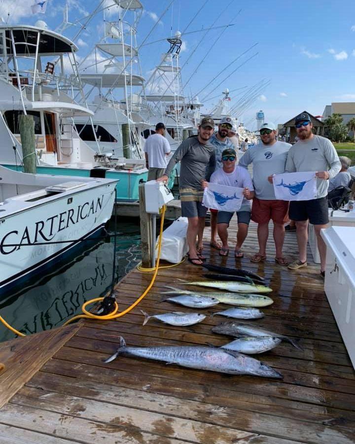 Atlantic Beach, NC - Carterican released 2 Sailfish.