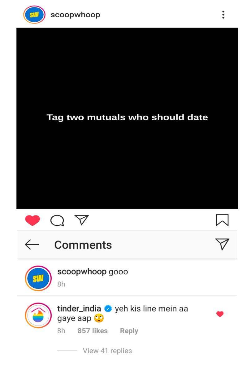 Okayy!!! So this happened 😂 @ScoopWhoop @Tinder_India