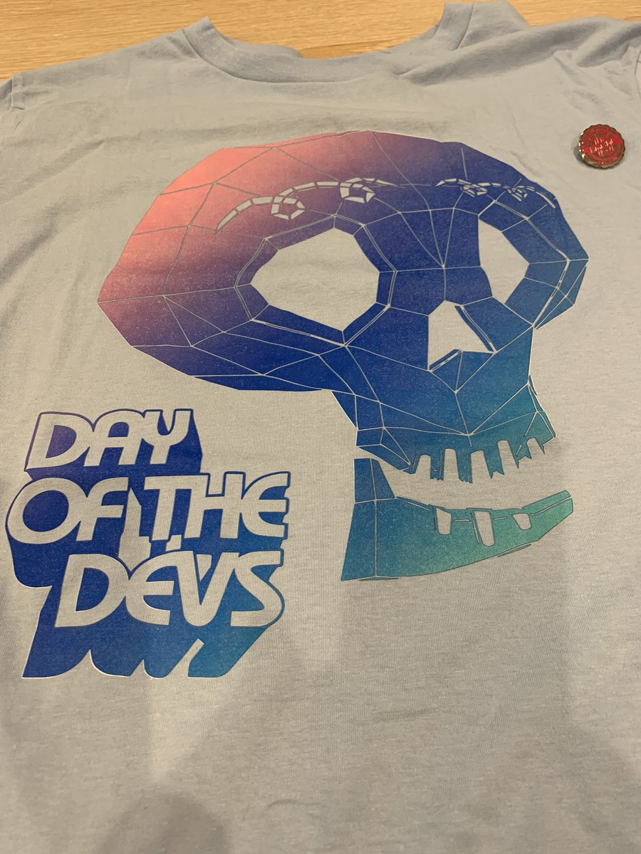 Received a cool gift 😎 @iam8bit @GregRicey @TimOfLegend #DayOfTheDevs https://t.co/AFc73Sr7Pw