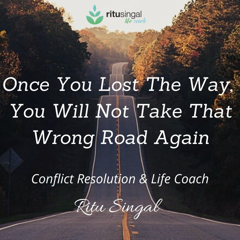 Once you lost the way, You will not take that wrong road again. And no matter how long you have travelled on wrong road, You can always turn around  . #rightpath #travelling #travelingram #wrongroad #LifeCoachRituSingal #LifeCoach  #BoostsImmuneSystem #StayPositivepic.twitter.com/MMUaSZkT8C
