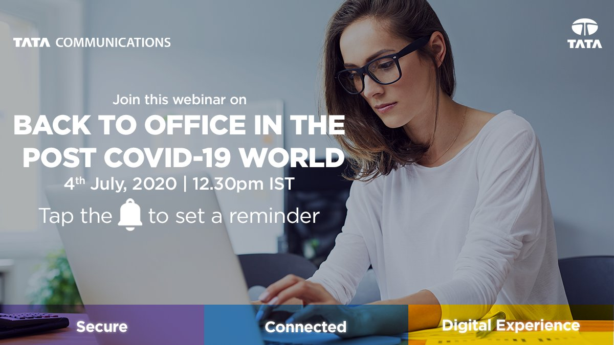 Organisations across the world have been paving the path for evolved digital journeys. But what will this look like when enterprises get back to office post COVID-19? Find out in this webinar with @Rajthewonderer. Click the🔔to set a reminder: https://t.co/6JAT0tiqfv https://t.co/j4guJzJiTq
