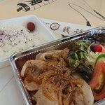 Image for the Tweet beginning: 今日のお昼。しょうが焼き弁当。  #銭形 #上越妙高エール飯  #テイクアウト  #妙高市