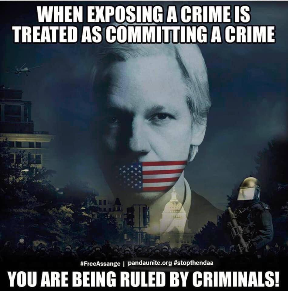First they came for Julian Assange...   Then #WitnessK and Bernard Collaery...  And journos @DanielMOakes & @annikasmethurst...  And whistle-blowers @MurdochCadell & @Richard_D_Boyle...  Where will it end? All these people did was reveal high level crimes.   #auspol #FreeASSANGE https://t.co/vPWwZFIEV7