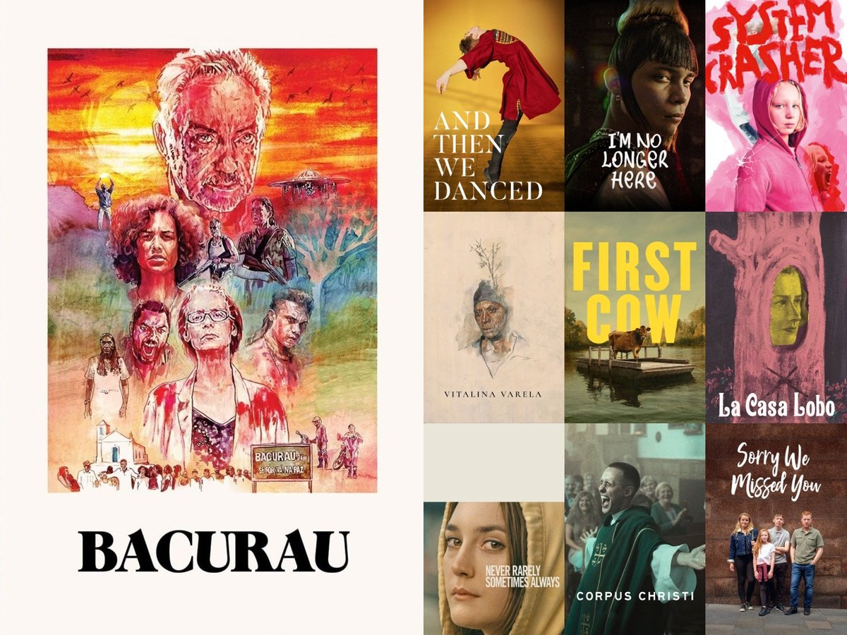 Here are the 10 highest-rated films on Letterboxd at the halfway point of this very strange year.   Brazil's Bacurau is at No.1 in a strong global lineup also featuring Georgia, Mexico, Germany, Portugal, Chile, Poland, England & US.    https:// letterboxd.com/crew/list/top- 10-highest-rated-for-first-half-of-2020/  …  #cinemabrasileiro  <br>http://pic.twitter.com/yAWsaJjHBJ