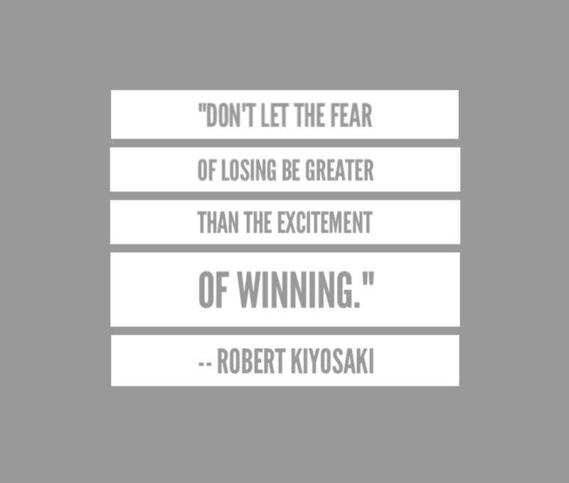 "#ThursdayThoughts || ""Don't let the fear of losing be greater than the excitement of winning."" -Robert Kiyosaki #robertkiyosaki #businessowner #businessloans #qotd  #startups #buildyourempire #buildyourdream #motivation #richdadpoordad #entrepreneurpic.twitter.com/P1s7oR8B64"