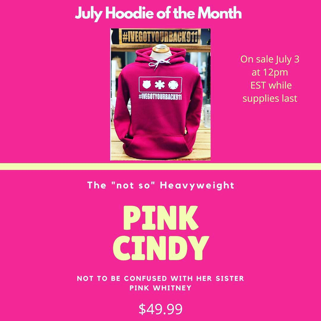 Tmmrw we drop our special July Hoodie. Looking for a place to donate proceeds. Drop some suggestions here ❤️