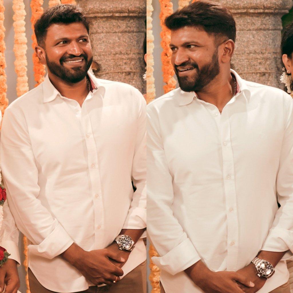 Appu + Beard Look + Smile = Heaven ❤️😍  #Appu #PowerStar #PuneethRajkumar #PowerGroupsMysore