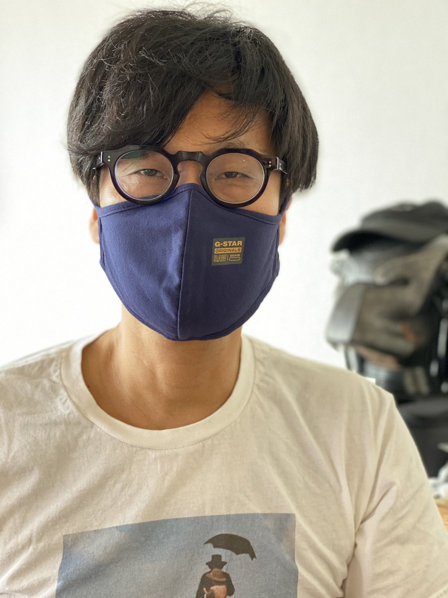 待たせたな、本日の小島監督。Kept you waiting! Hideo Kojima today.