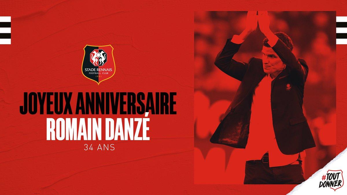 [AnniverSRFC]  Rouge et Noir un jour, Rouge et Noir toujours. ✊  🎂 Joyeux anniversaire @Ladanze29 ! 😙  --- #AllezRennes #ToutDonner 💪🔴⚫ https://t.co/JVGHwNRszh
