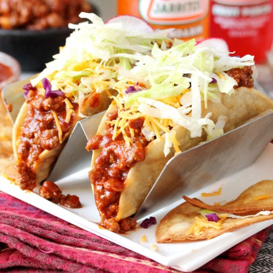 Enchilada Sauce Taco Meat. #mexicanfood #foodinspiration #foodblogger http://bit.ly/2OdysVdpic.twitter.com/paYSsej28d