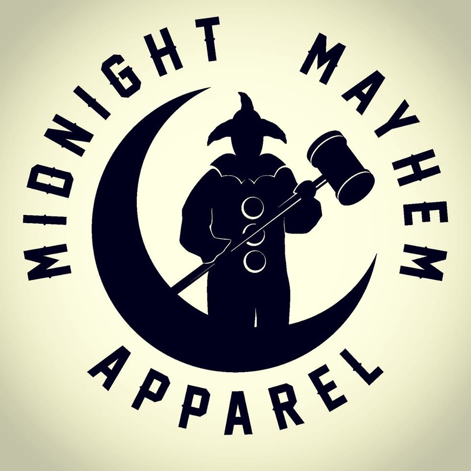 Love the material they make, and love scaring the shit out of people with it. Give Midnight Mayhem Apparel a follow and like.  Follow them at  https://www. facebook.com/MidnightMayhem Apparel/   …  #clowns #clownoutfit #midnightmayhemapparel #masks #clowncostume #clownsarescary #halloween #halloweencostume <br>http://pic.twitter.com/OUVwpaDvxF