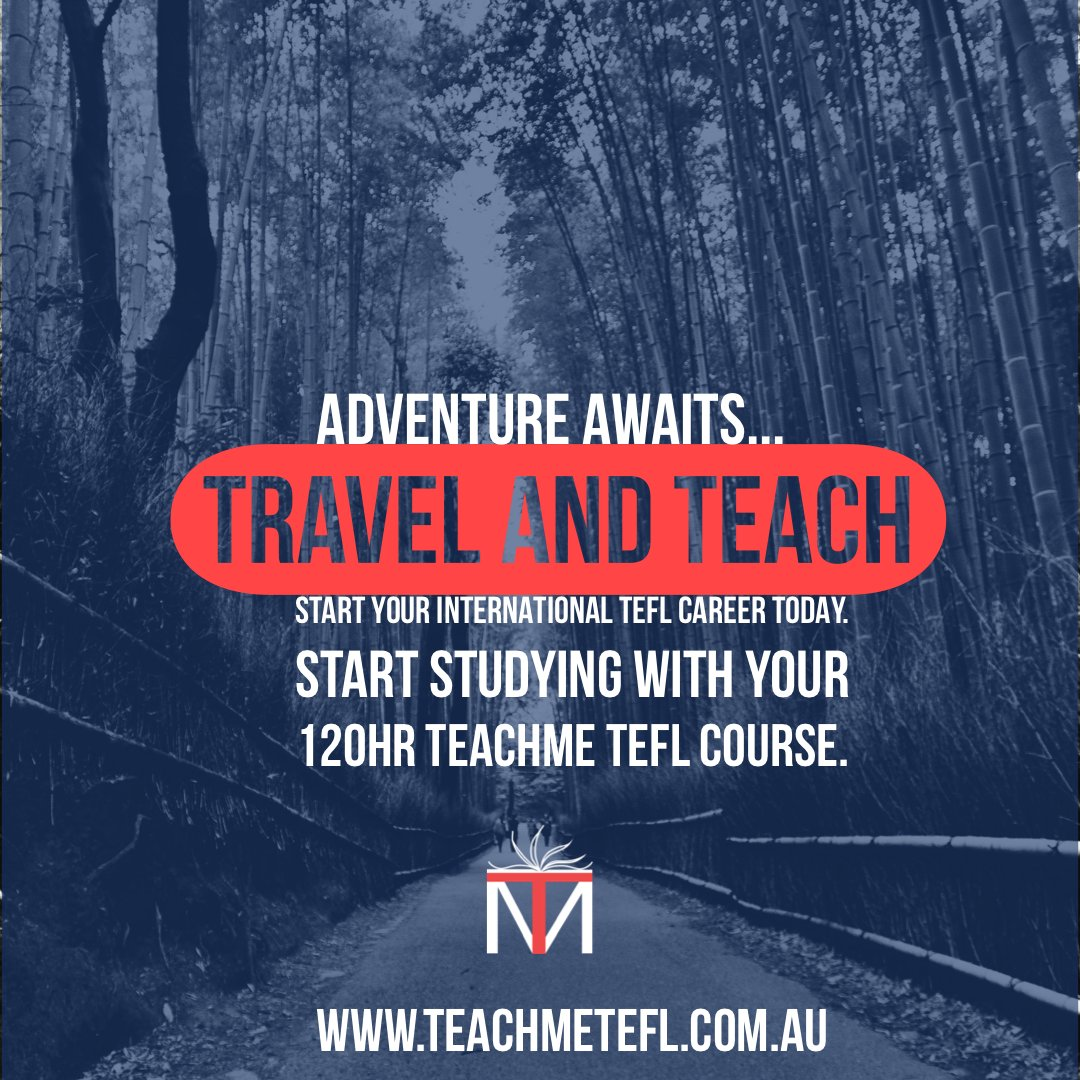 Adventure awaits…  Start studying and get teaching! TeachMe TEFL 120hr course is your ticket to travel and teach!  #postcardsfromtheworld #optoutside #solotravel #goexplore #wonderfulplaces #travelbug #wanderlust #momentsofmine #travelstories #roamtheplanet #traveltheworldpic.twitter.com/zXEWMGM2ix