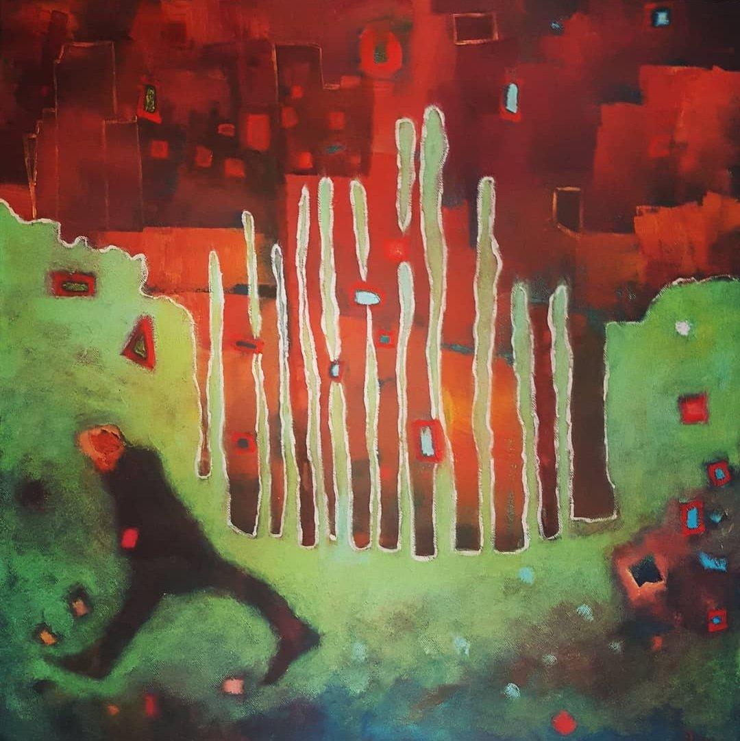 SLEEPWALKING  OIL ON CANVAS  #art #ArtistOnTwitter #artistsontwitter #artshare #kunst #artwork #sleepwalking #insomnia_wig #insomnia #expressionism #modernart #contemporaryart #outsideart #artbasel #frankvandereijk #LA #NYC #NY #Champions<br>http://pic.twitter.com/Yr11n9iDa3