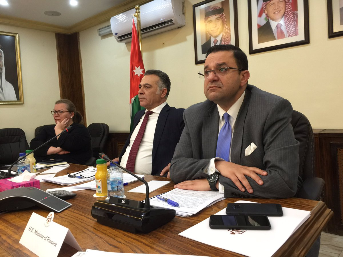 Productive discussion at y'day's Jordan Task Force,co-chaired by @MoPIC_Jordan & UK,sustaining momentum of the partnership cemented at the London Conference. International partners applauded Jordan's commitment to reform & recognized thedramatic progress made @UKinJordan @DFID_UK https://t.co/PLtCPJfoTM
