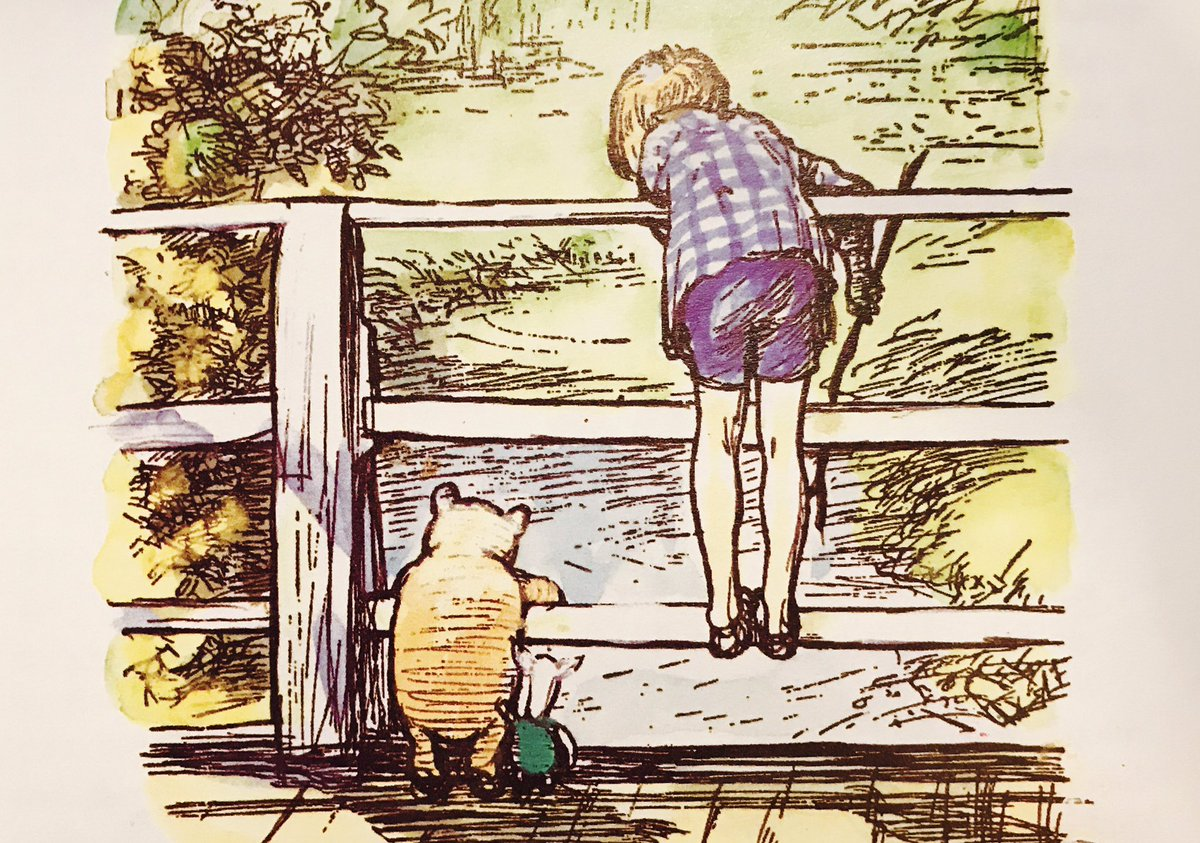 """""""Tigger is all right, really,"""" said Piglet lazily. """"Of course he is,"""" said Christopher Robin. """"Everybody is really,"""" said Pooh. """"That's what I think, but I don't suppose I'm right,"""" he said. """"Of course you are,"""" said Christopher Robin. ~A.A.Milne #Fridayfeeling #bekind https://t.co/4kMlv4Iy6h"""