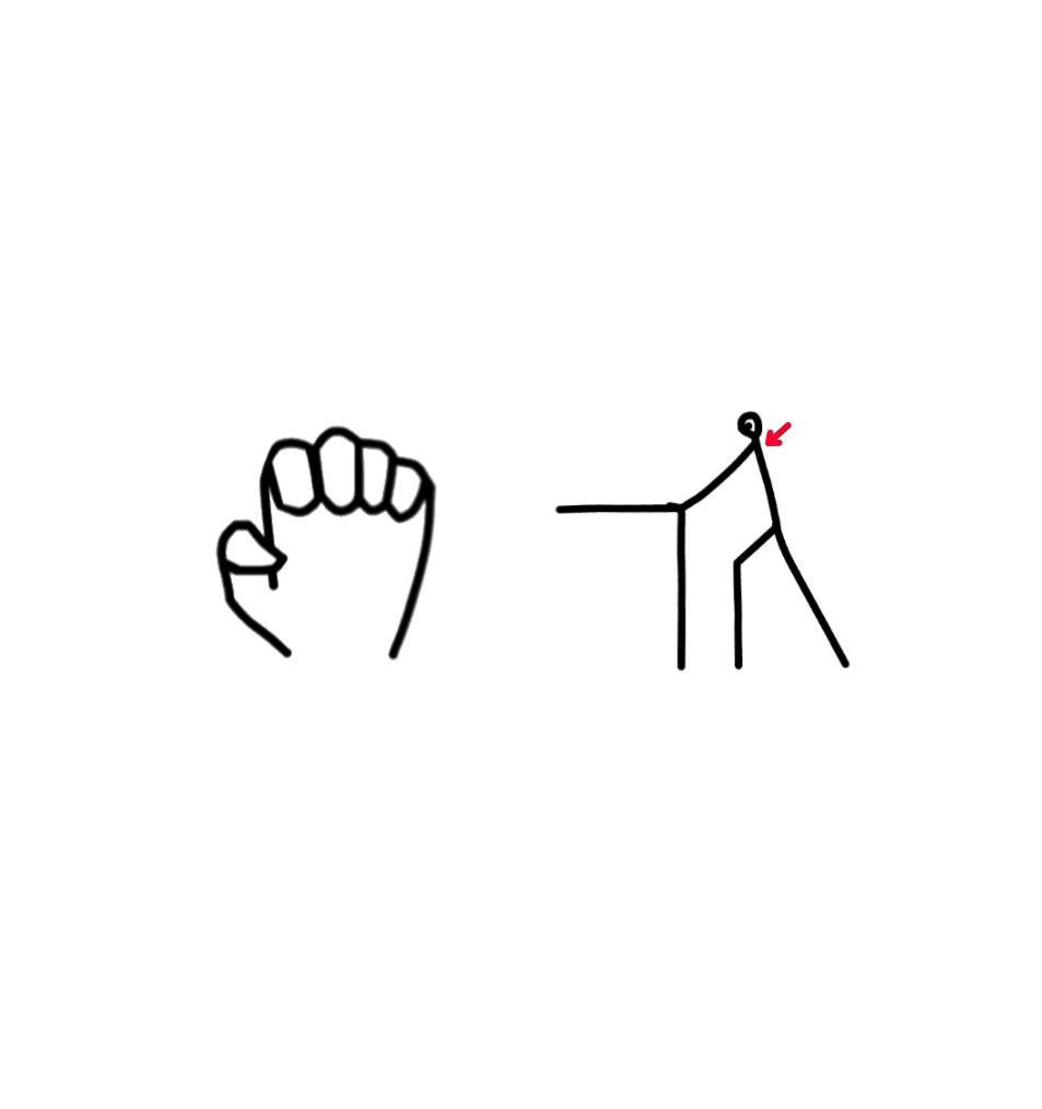 【背中のストレッチ】  ①机の前に立つ  ②両手の人差し指~小指を第二関節で曲げる  ③両手を机のへりに当てる  ④両肩の位置を動かさずに、背中を強く入れる  #足 #腰 #背中 #お腹 #胸 #肩 #腕 #手 #指 #ストレッチ https://t.co/2m1r505COI