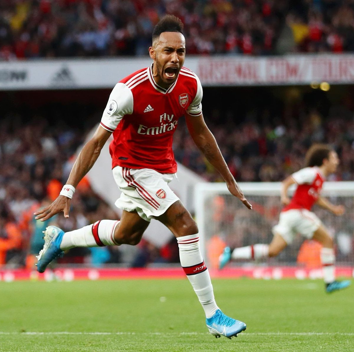 He's clearly Arsenal's best player for a while now...gunning for another golden boot, putting Gabon on the global map of football.....  #Aubameyang is world class for me, We have to show him more respect.  Clinical  Instinctive  Pace and trickery  Finisher   pic.twitter.com/uob9ps8Bv2