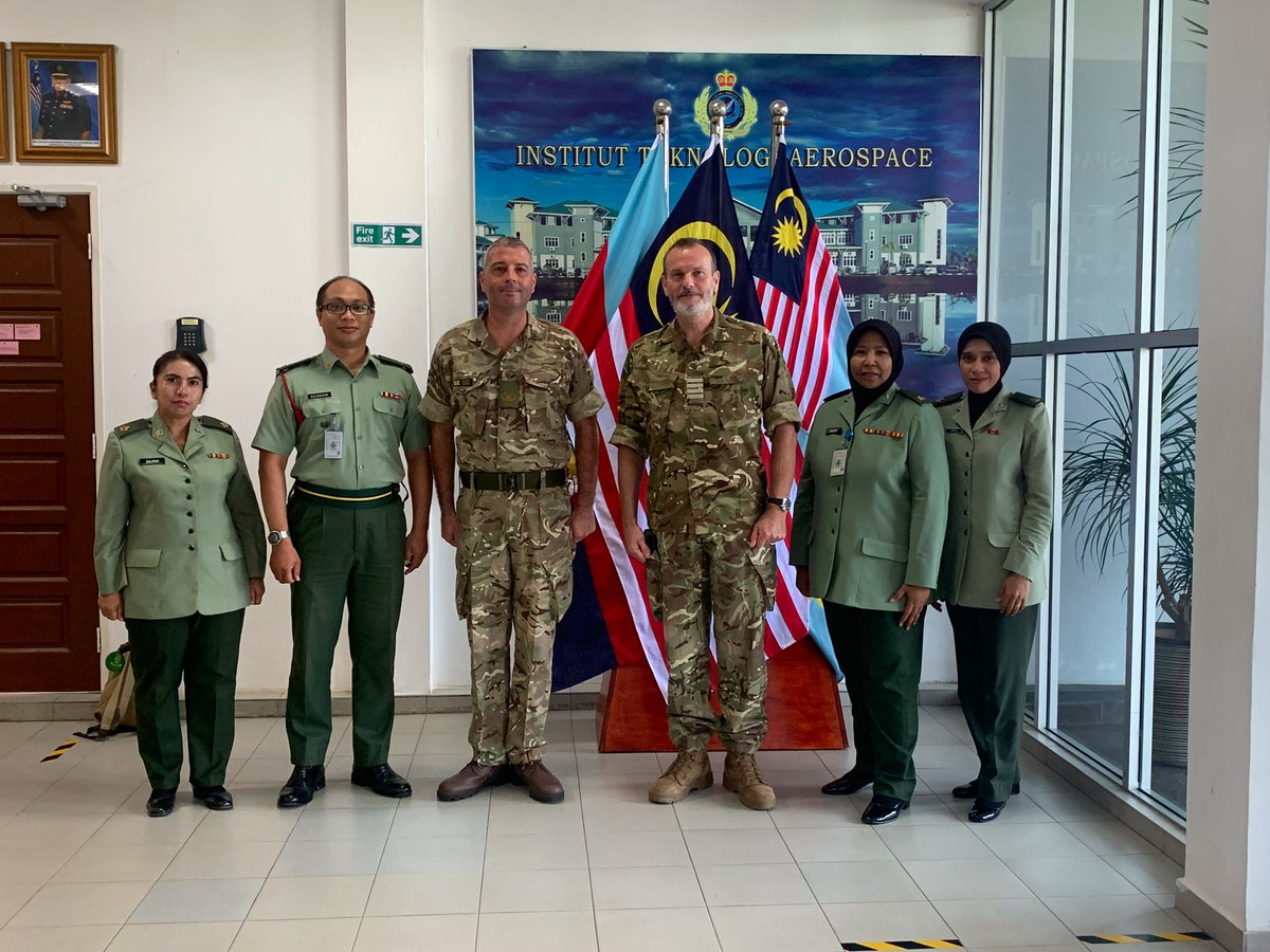 🇲🇾Institute of Aerospace Technology.  Leading provider of @airforcenextgen RMAF training and education. Fixed wing 🛫& rotary🚁training. Aircraft Technicians, Engineering Officers, Language Courses #excellance #education #Defencediplomacy https://t.co/jYRURxW7a5
