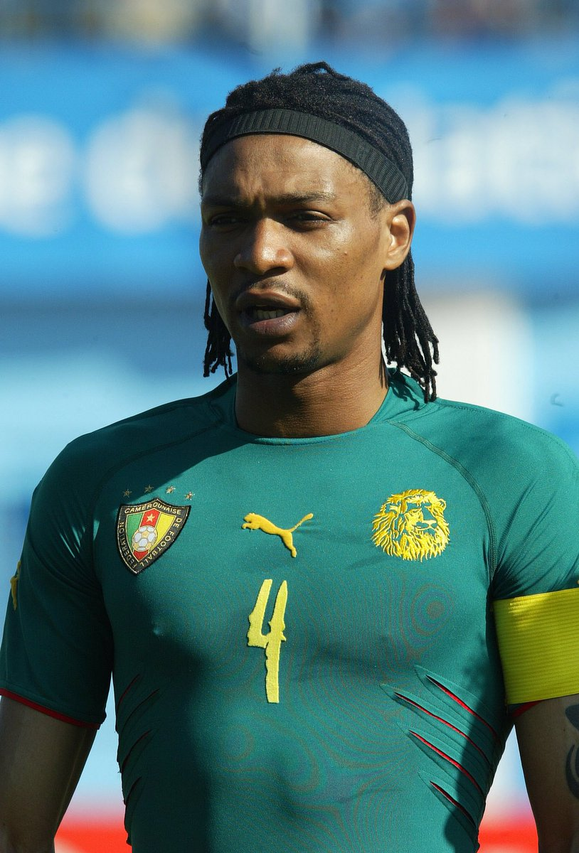 Happy Birthday to African football legend, Rigobert Song!  137 caps   2x AFCON champion   8 AFCON tournaments   4 FIFA World Cup tournaments   #AfricanFootball pic.twitter.com/OPXp8WBjGs