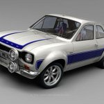 Image for the Tweet beginning: The #Ford #Escort Mk1 #Mexico