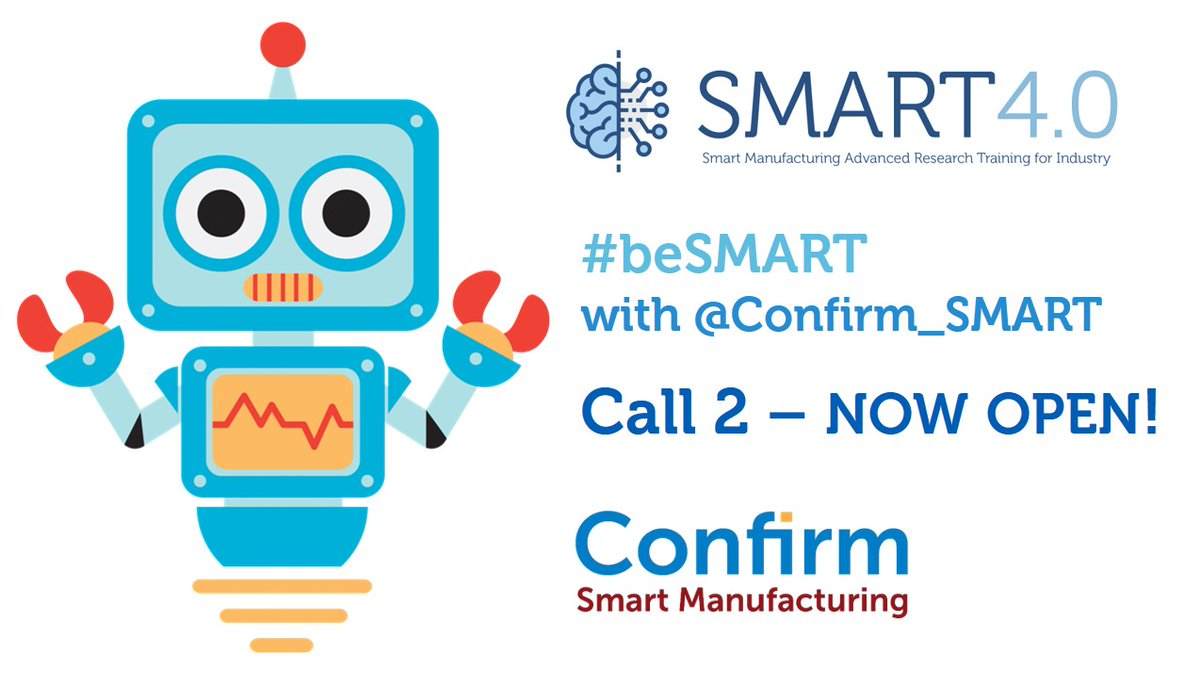 @Confirm_SMART with @Confirm_Centre is delighted to announce the #launch 𝗼𝗳 𝗖𝗮𝗹𝗹 𝟮, 𝗠𝗦𝗖𝗔 𝗖𝗢𝗙𝗨𝗡𝗗 𝗳𝗲𝗹𝗹𝗼𝘄𝘀𝗵𝗶𝗽, 𝗦𝗠𝗔𝗥𝗧 𝟰.𝟬!  https://t.co/Ia610NKNKr  𝗖𝗮𝗹𝗹 𝗱𝗲𝗮𝗱𝗹𝗶𝗻𝗲 𝗶𝘀 𝟯𝟬𝘁𝗵 𝗦𝗲𝗽𝘁𝗲𝗺𝗯𝗲𝗿 𝟮𝟬𝟮𝟬!  #beSMART - be with CONFIRM! https://t.co/afD1KUrjQt
