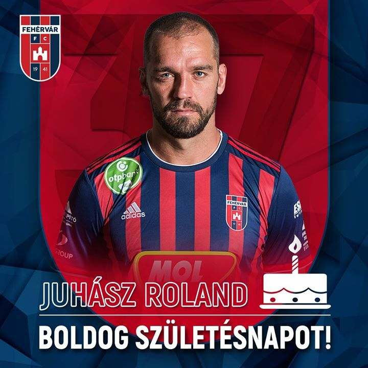 Ma ünnepli 37. születésnapját a múlt héten visszavonult Juhász Roland! Roli 7,5 évet töltött a Vidiben játékosként, az elmúlt 5 esztendőben a csapat kapitánya volt. Klubunkkal két bajnoki címet és egy Magyar Kupa-aranyat nyert, 2018-ban az Európa Liga csoportkörébe jutott a … https://t.co/ry7gCI2J0I