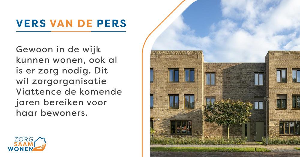 Gewoon in de wijk kunnen wonen, ook al is er zorg nodig. Dit wil zorgorganisatie @Viattence bereiken. In Heerde is het al gelukt. Daar is een verpleeghuis vervangen door kleinschalige woongroepen waar mensen in de wijk wonen: Hofje Wendakker. https://t.co/IDAlmxeRA1 https://t.co/nub5YWlYdf
