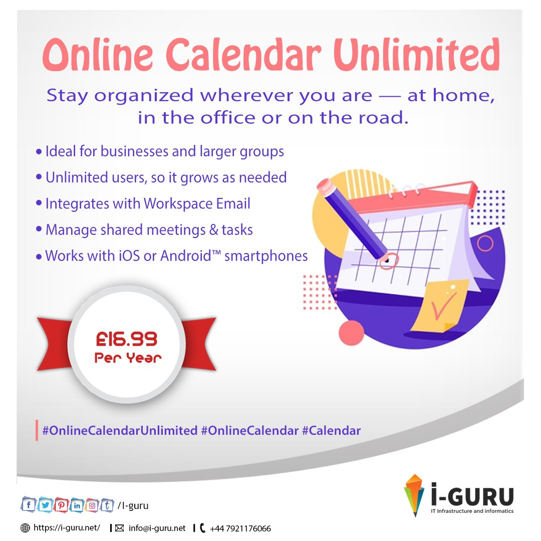 #Iguru #Graphics #WebsiteDesign #websiteDevelopment #IOSAppDevelopment #AndroidAppDevelopment #MobileappDevelopment #Software #CRM #Print #OnlineCalendarUnlimited #OnlineCalendar #Calendar https://t.co/y68kXLDGnD