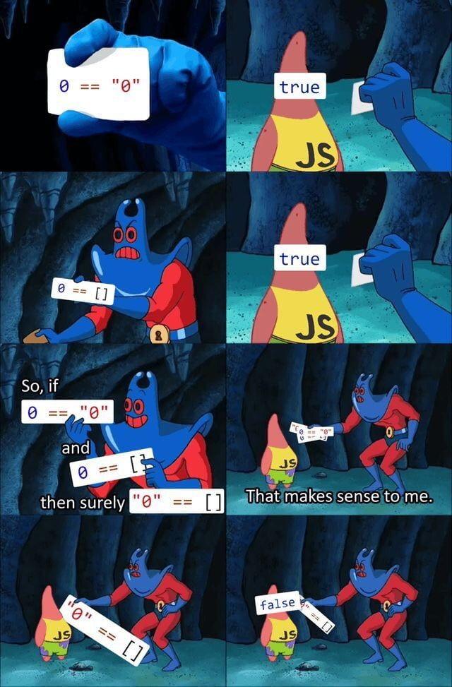 The weird part of Javascript  #CodeNewbie #DEVCommunity #100DaysOfCode<br>http://pic.twitter.com/nXy2XPPl2y