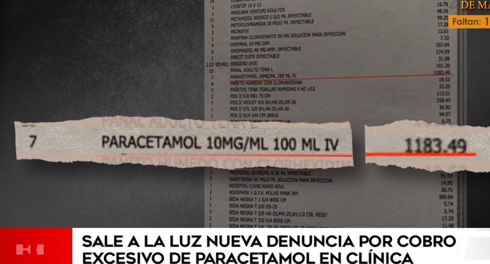 #Miraflores: denuncian que clínica Good Hope cobró S/ 1.183 a paciente por siete inyectables de paracetamol https://bit.ly/2BP9cnvpic.twitter.com/xN80uEGZkN