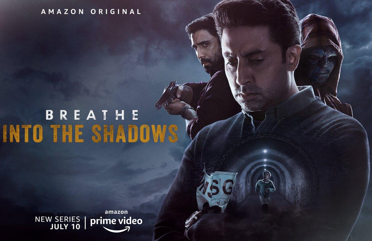 How far will you go to save your loved one? #BreatheIntoTheShadows  Trailer Live Premiere at 12 pm, set your reminder.  https://t.co/XXuks1XRwn  @PrimeVideoIN @juniorbachchan @TheAmitSadh @MenenNithya @SaiyamiKher @mayankvsharma @vikramix @Abundantia_Ent https://t.co/vw1CMjvpuF