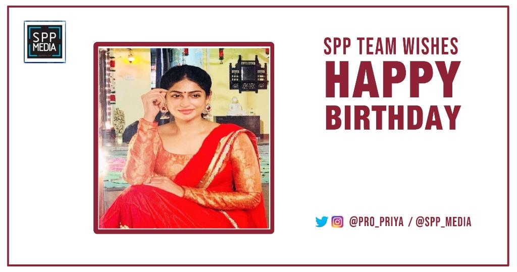 #Sppmedia Wishing A Very Happy Birthday to the Actress @vgyalakshmi   @spp_media https://t.co/l38fzg7qTT