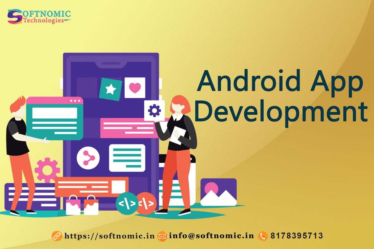 @softnomic is the leading Android App Development Company in Noida who takes care of all of your android application development requirements.  https://t.co/p9p8Z7YtJA  #appdevelopment #androidappdevelopment #appdevelopmentcompany #androidappdevelopmentcompany #android https://t.co/t6j0XAG1VM
