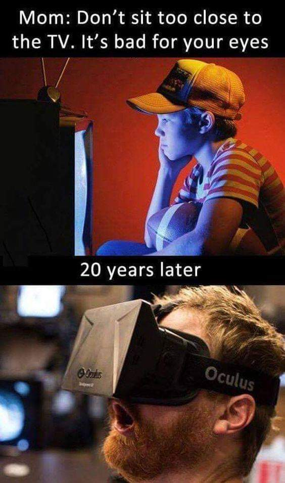 This is so true!   #LearnTocode #AugmentedReality #VirtualReality #VRGaming #AR #VR #MR #XR #MixedReality #XAI #TechForGood #bigdataanalytics #emergingtechnologies #technologytransformation #digitaltransformations #enterprisearchitecture #digitalinnovation #technologyinnovation pic.twitter.com/8SS5isEb7V
