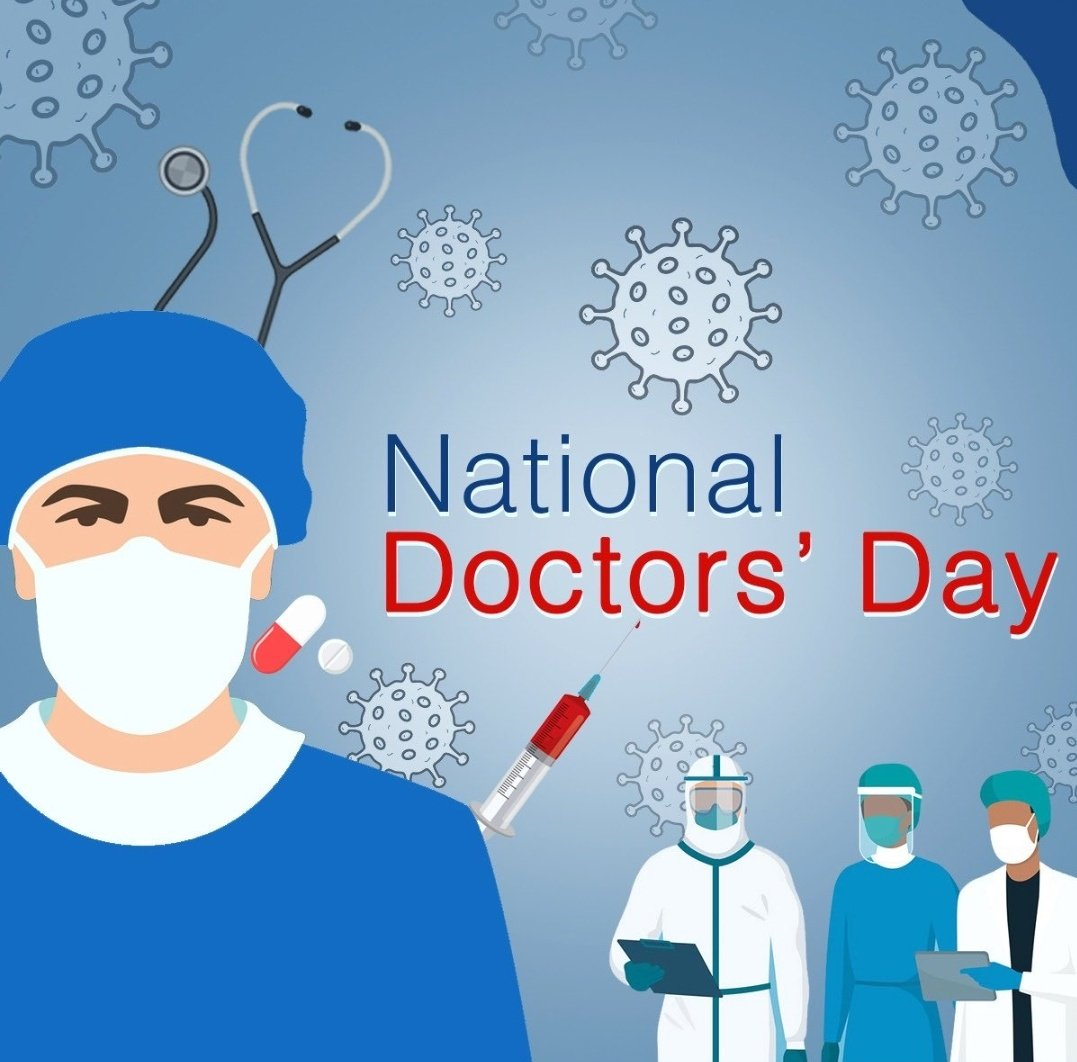 #Doctors are considered second to God on earth & this one-line paraphrases everything from faith, trust & belief. As #COVID19 brought them to the forefront, they have been doing exceptional work to protect our nation. This #NationalDoctorsDay, lets salute these #RealHeroes!