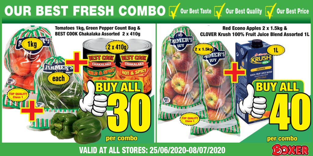 Get 'Our Best Fresh Combos' at your nearest Boxer store! We're giving you MORE this Birthday! https://t.co/wVJ8kzooJh