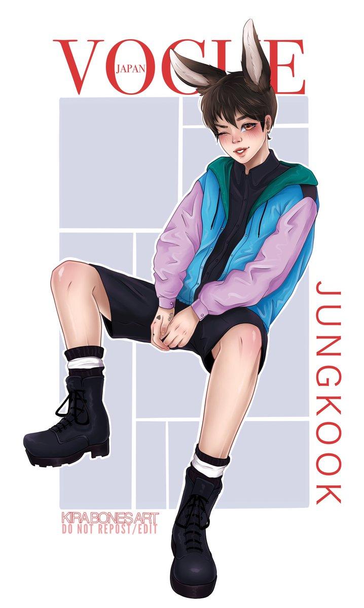 Bunny Koo  V O G U E japan.  Do not repost/edit  #JUNGKOOK #bunny #vogue #voguejapan #BTS #Procreatepic.twitter.com/QqwA3Imjrd