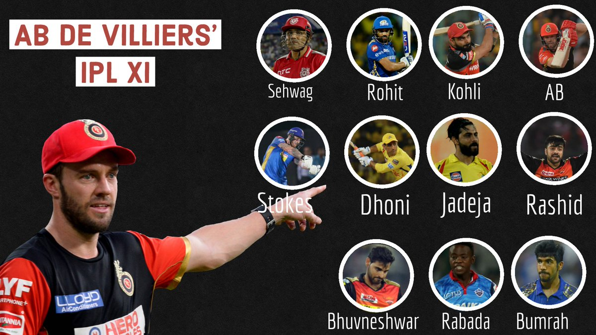 AB de Villiers has picked his best #IPL XI on Cricbuzz In Conversation!   YOUR CHALLENGE   Pick a team that can beat AB's. Your XI...  Must not include any player from his team  Can include only four foreign players <br>http://pic.twitter.com/EFgShcKTvJ